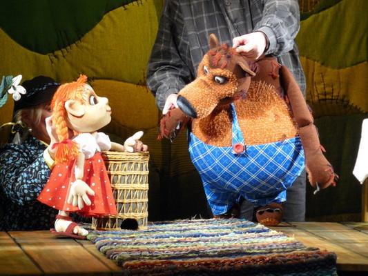 Кукольный театр в своими руками видео