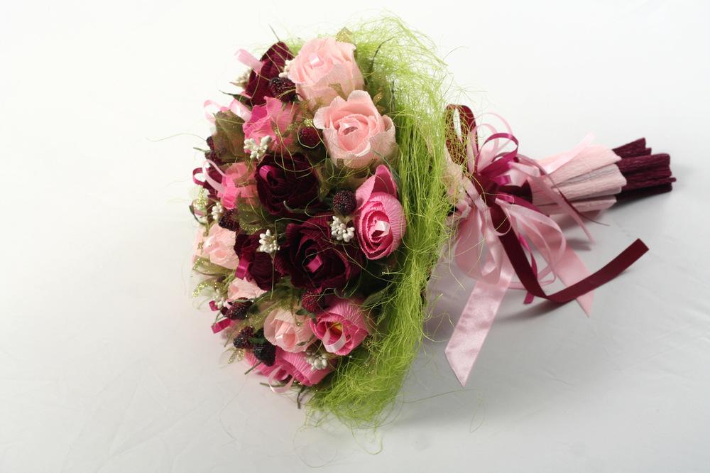 Декор букетов из цветов 145