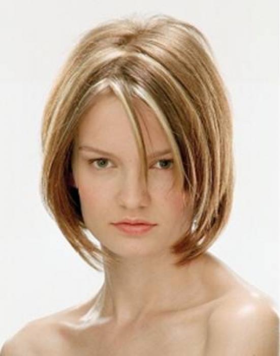 Прически на тонкие волосы с мелированием