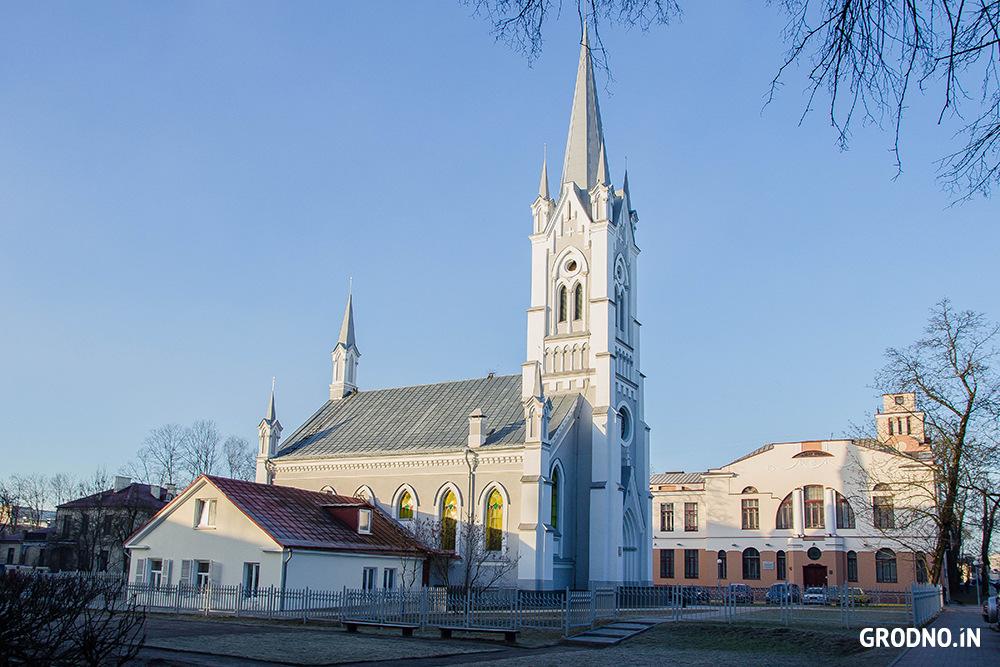 yevangelichesko lyuteranskiy tserkov sv ioanna v grodno