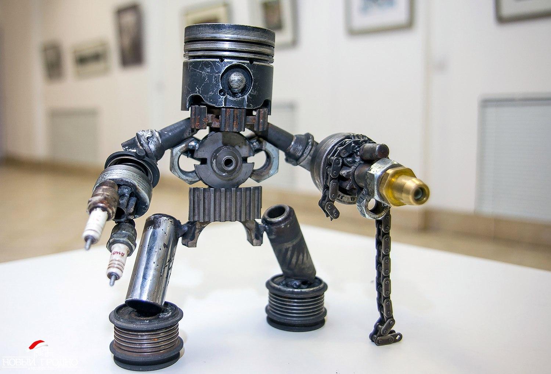 Как сделать робота из проволки: Другое: Про Детей 35