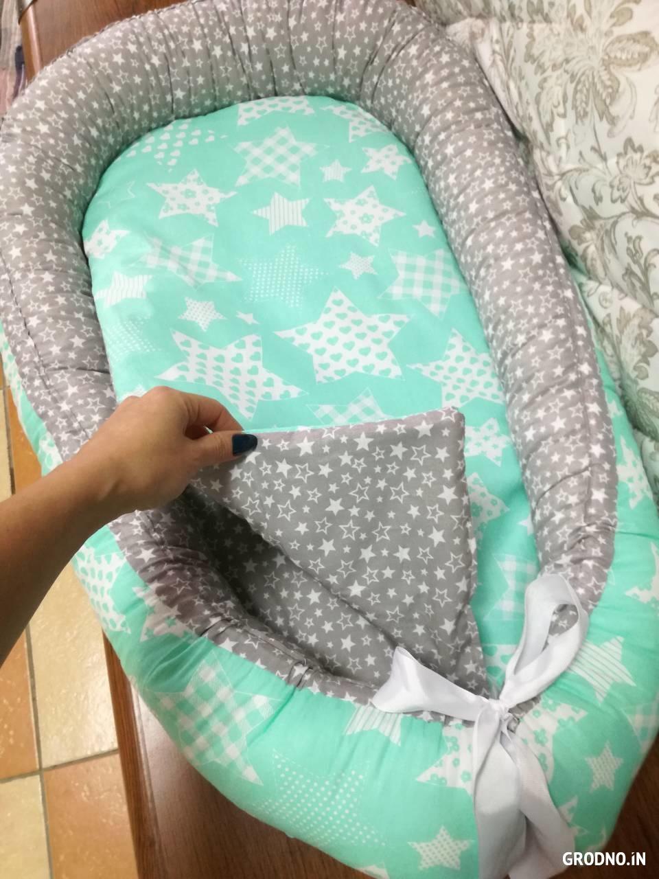 Гнездо из ткани