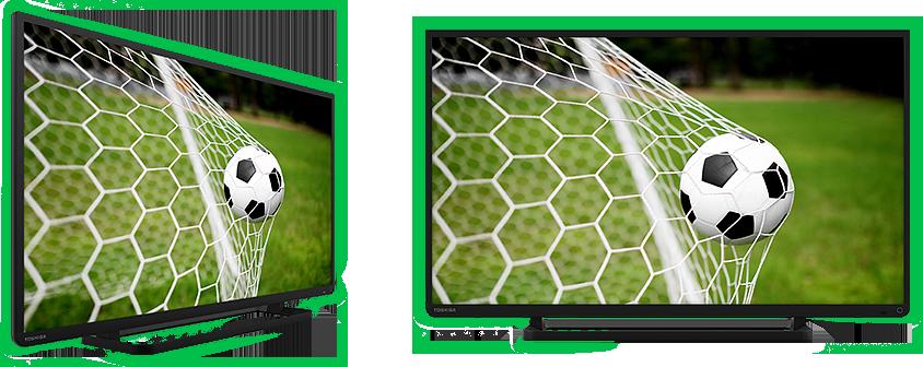 Телевизор с футболом картинки