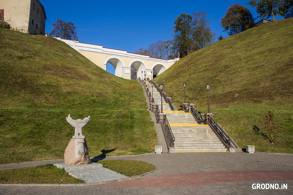 Лестница любви в Гродно