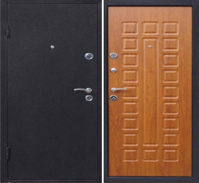 толщина металл для входной двери престиж