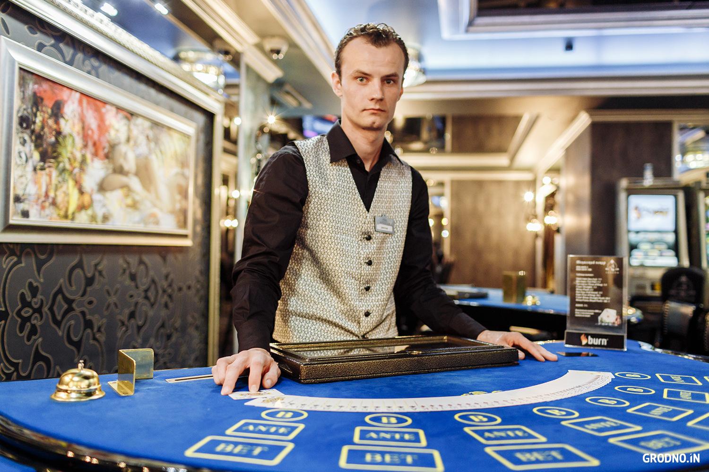 работа в казино россия