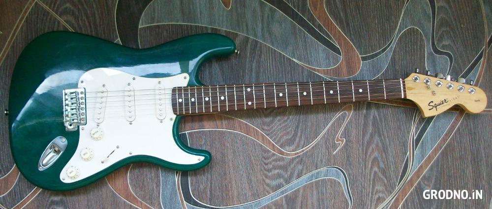Электрогитара Fender Squier Strat Tremolo – купить в Гродно