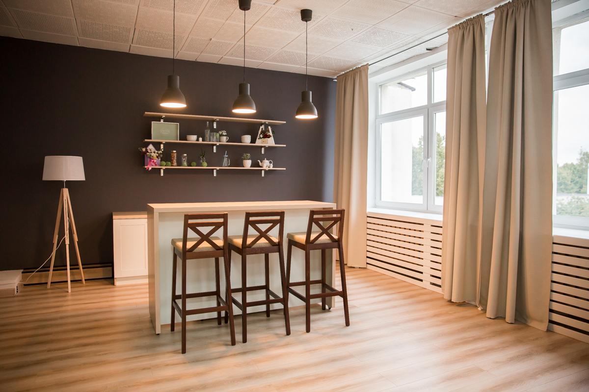 Фотостудия в виде кухни